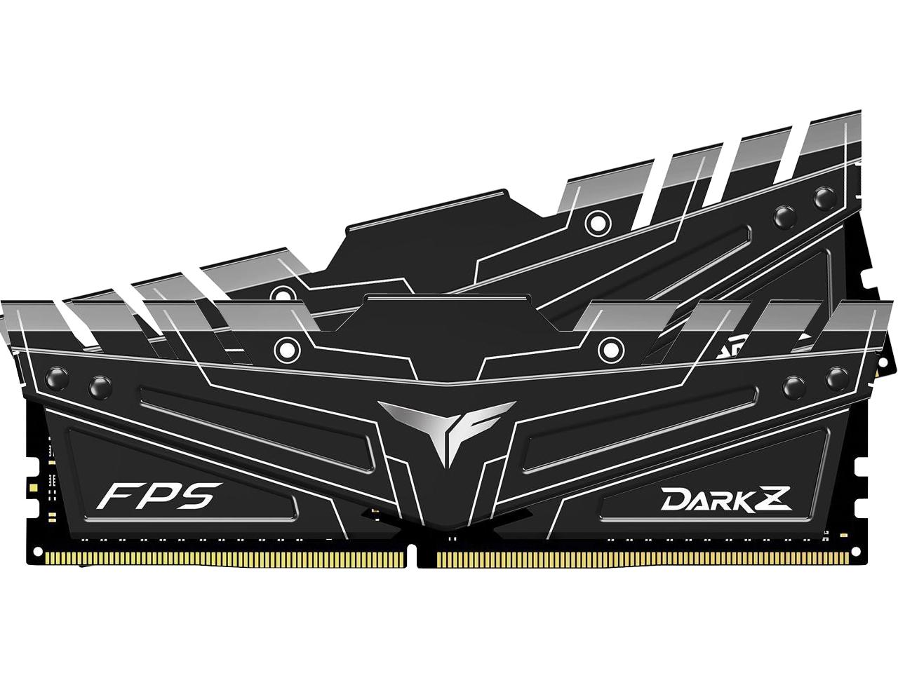 Kit de mémoire Dark Z FPS 16 Go Team T-Force Noir