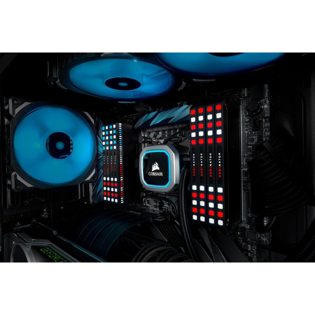 Kit de RAM Dominator Platinum RGB 16 Go (2 x 8 Go) DDR4-3600 Corsair