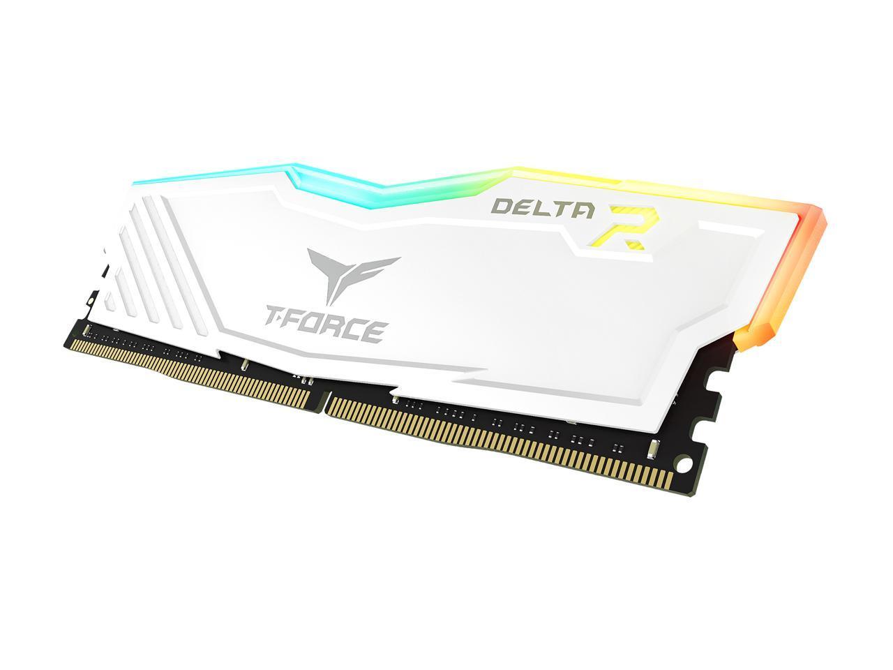 Kit de mémoire Delta RGB 64 Go T-Force Blanc