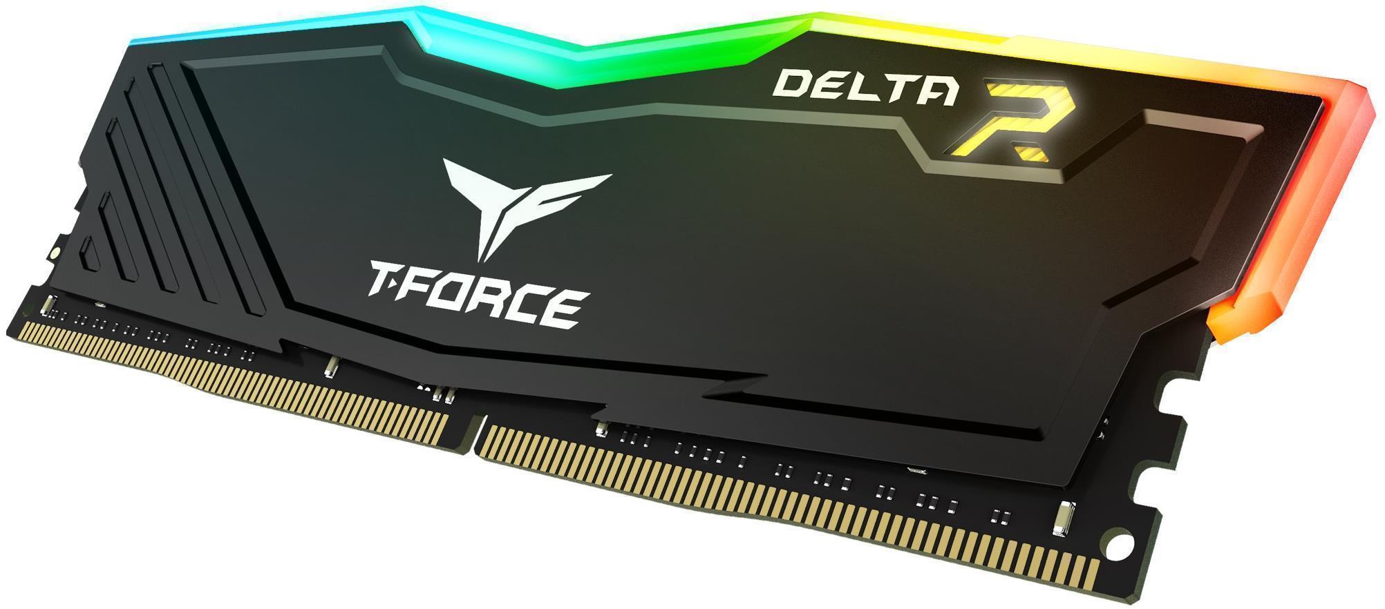 Kit de mémoire Delta RGB 64 Go T-Force Noir