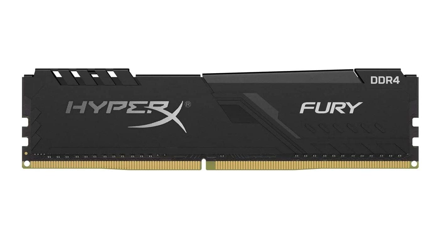 Fury - 1x16 Go - DDR4 3200 MHz - CL16 Noir
