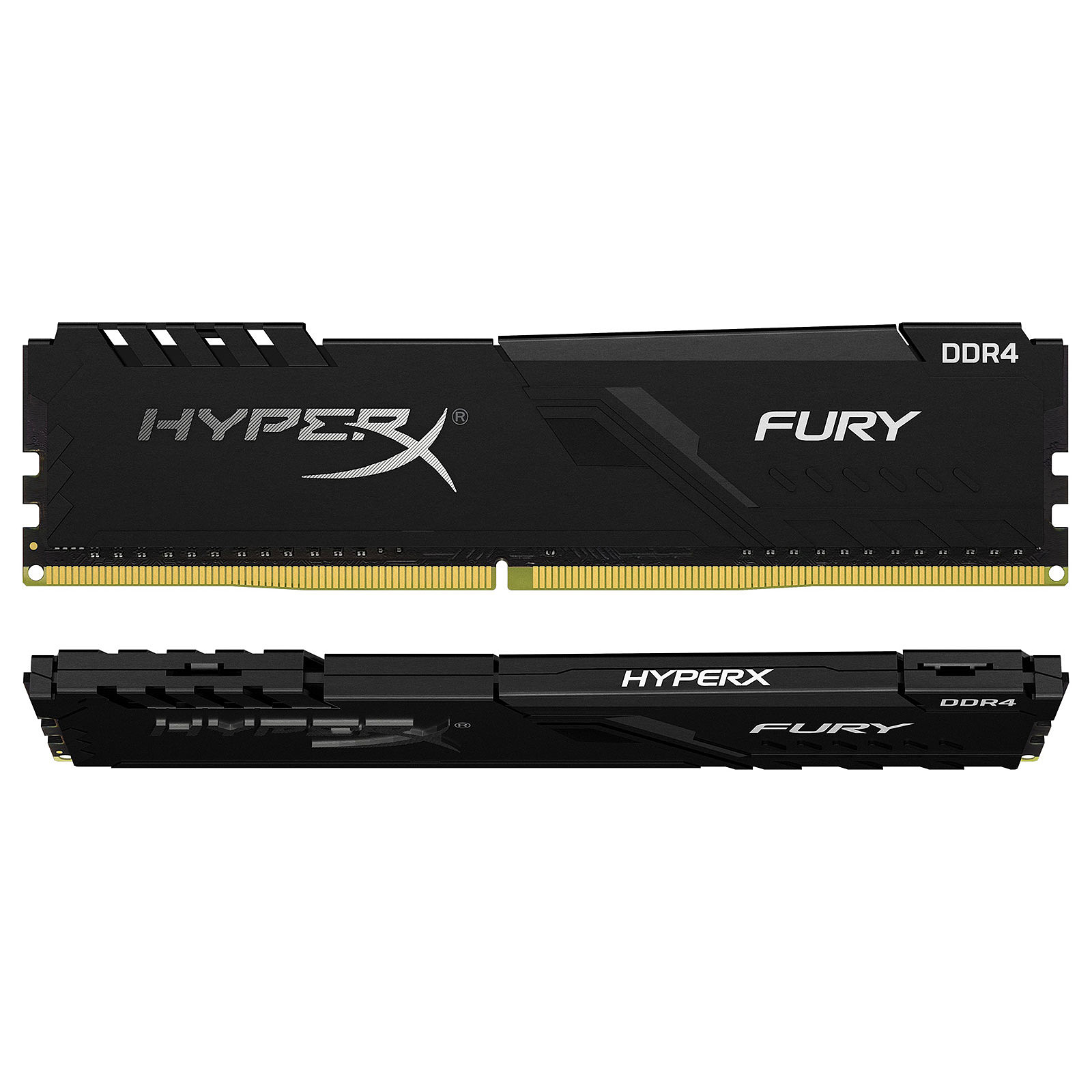 Fury - 2x8Go - DDR4  3600Mhz CAS 17 - Noir