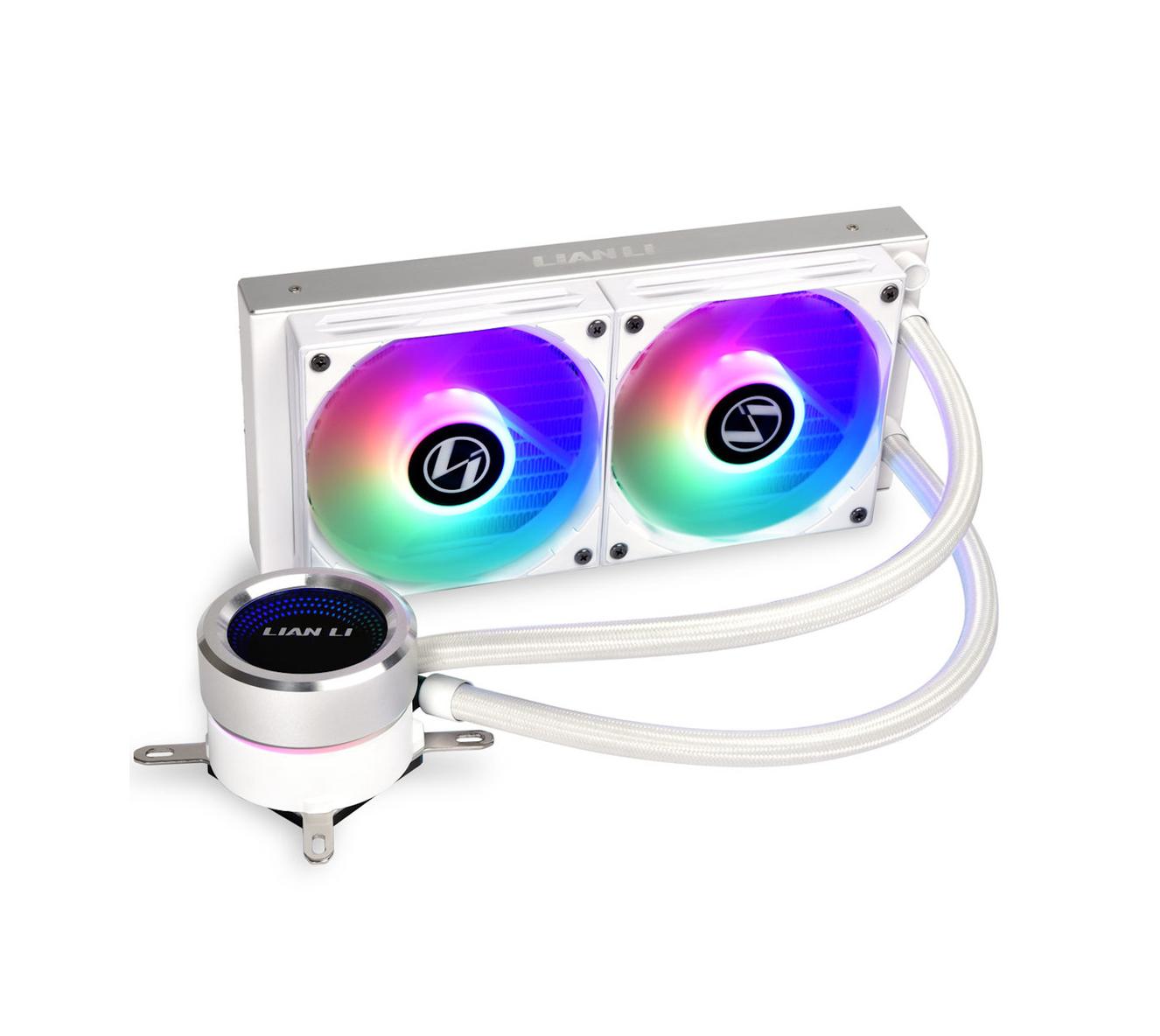 Refroidisseur pour CPU Galahad 240 AiO ARGB Lian Li Blanc