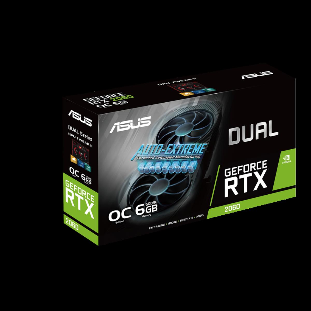 GeForce RTX 2060 OC Edition EVO - Dual Fan - 6Go