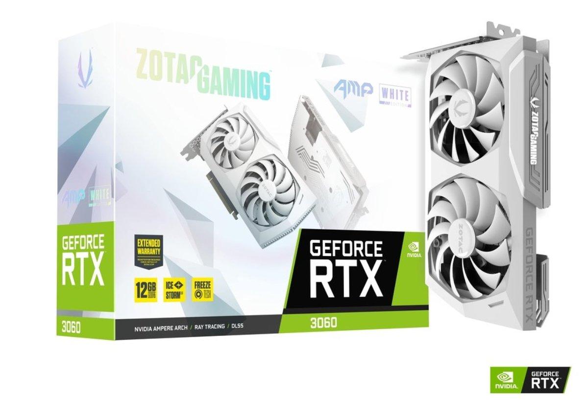 GeForce RTX 3060 AMP White Edition