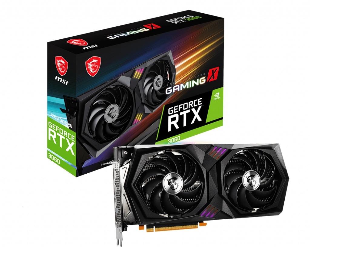 GeForce RTX 3060 GAMING X - Dual Fan - 12Go