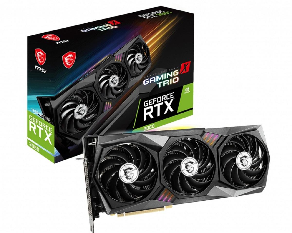 GeForce RTX 3060 GAMING X TRIO - Triple Fan - 12Go