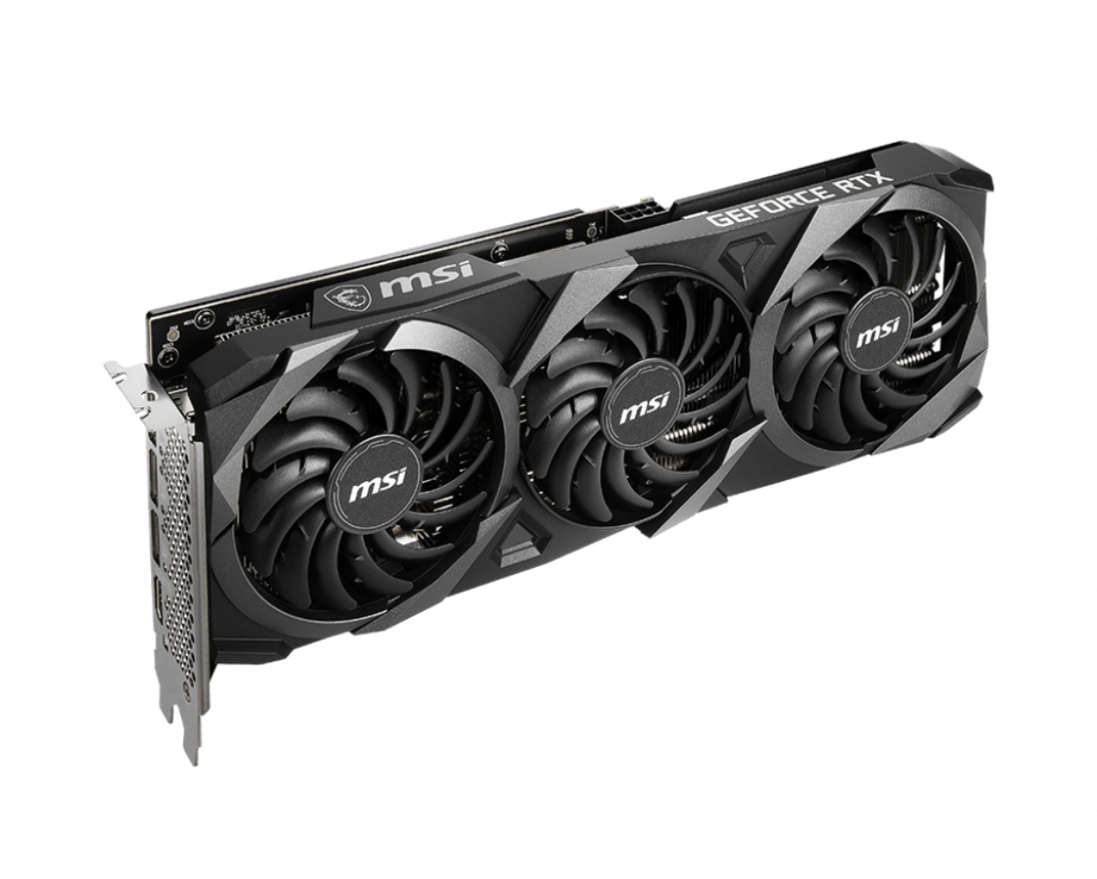 GeForce RTX 3060 VENTUS 3X OC - Triple Fan - 12Go