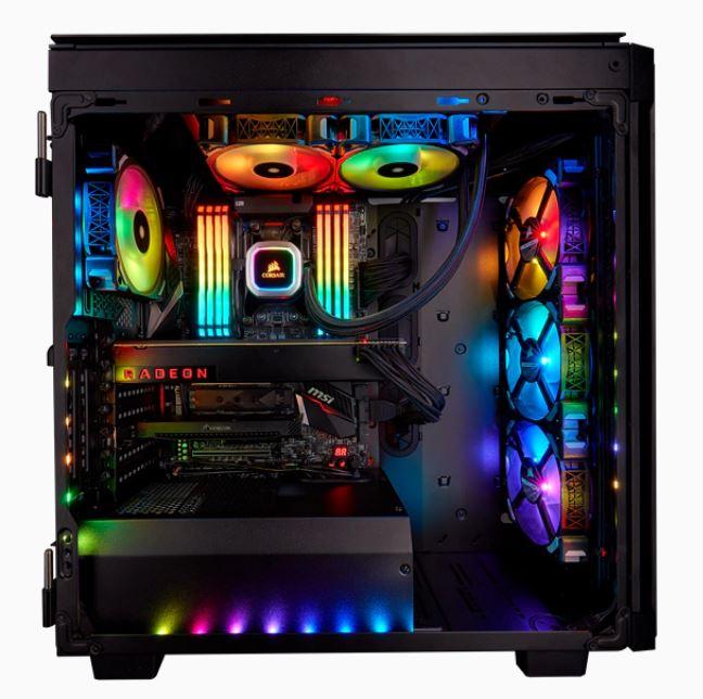 Refroidisseur liquide Hydro Series H100i RGB Platinum Corsair