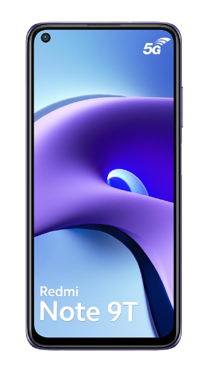 Redmi Note 9T - 5G - 4/128Go - violet aurore