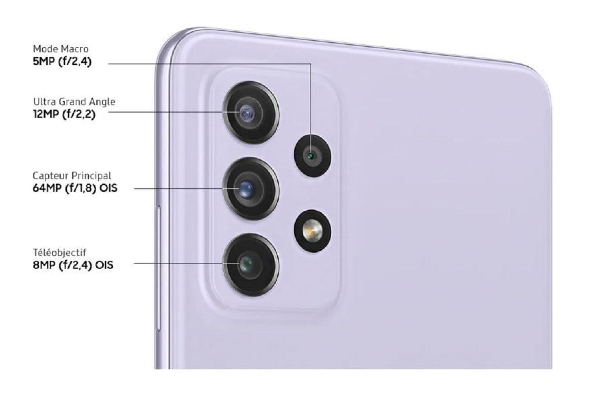Galaxy A72 - 128 Go - Noir