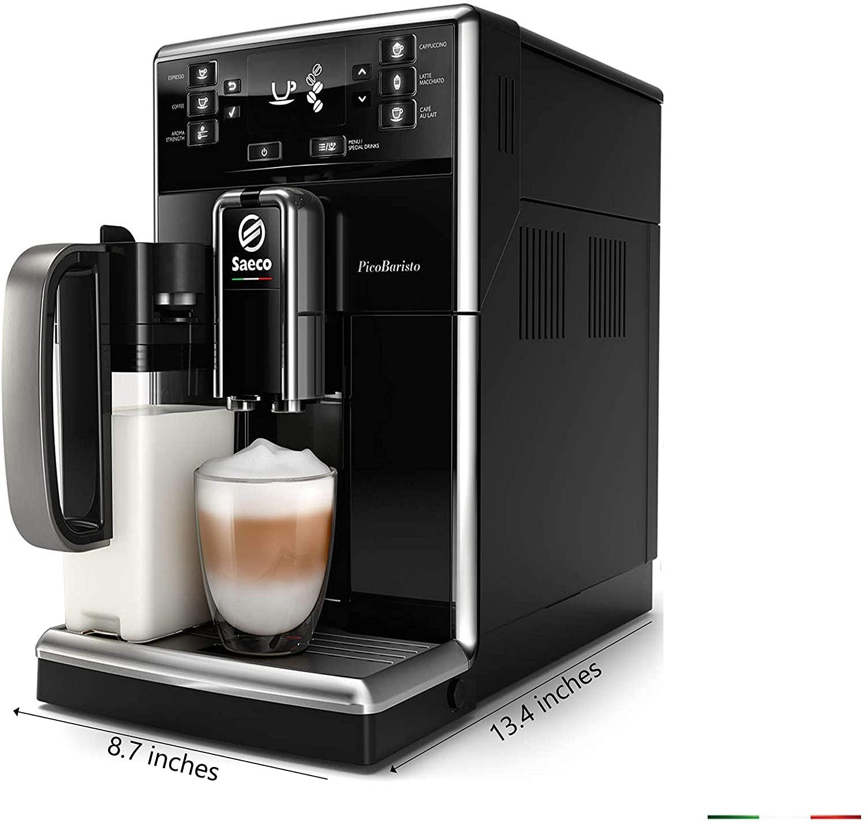 Machine à café Expresso broyeur PicoBaristo SM5470/10 - Noir