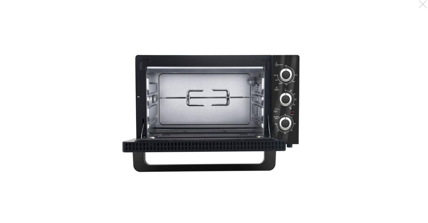 Mini four électrique - 45L - 2000W - Noir