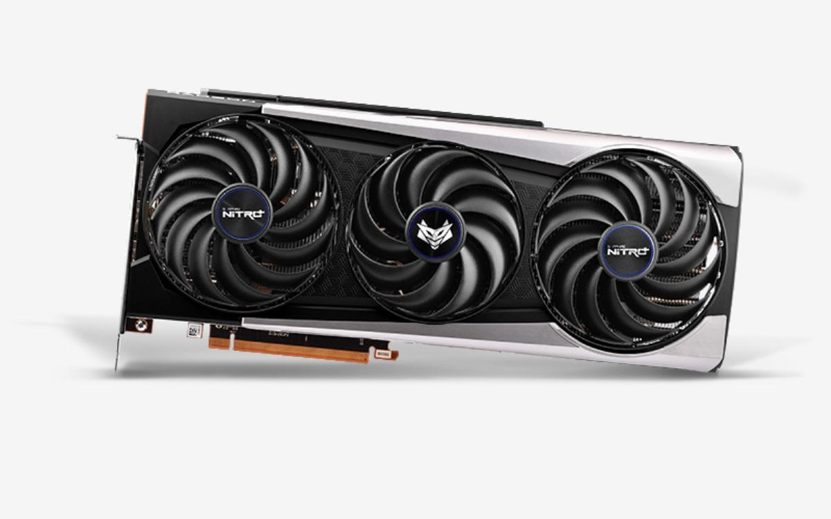 NITRO+ Radeon RX 6800 XT OC - Triple Fan - 16Go