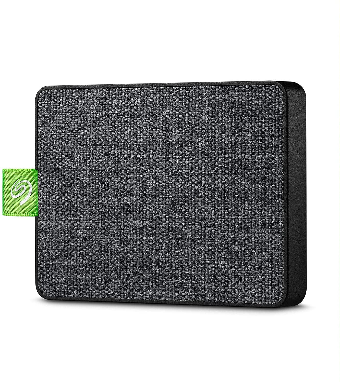 Disque SSD externe Ultra Touch Seagate Noir