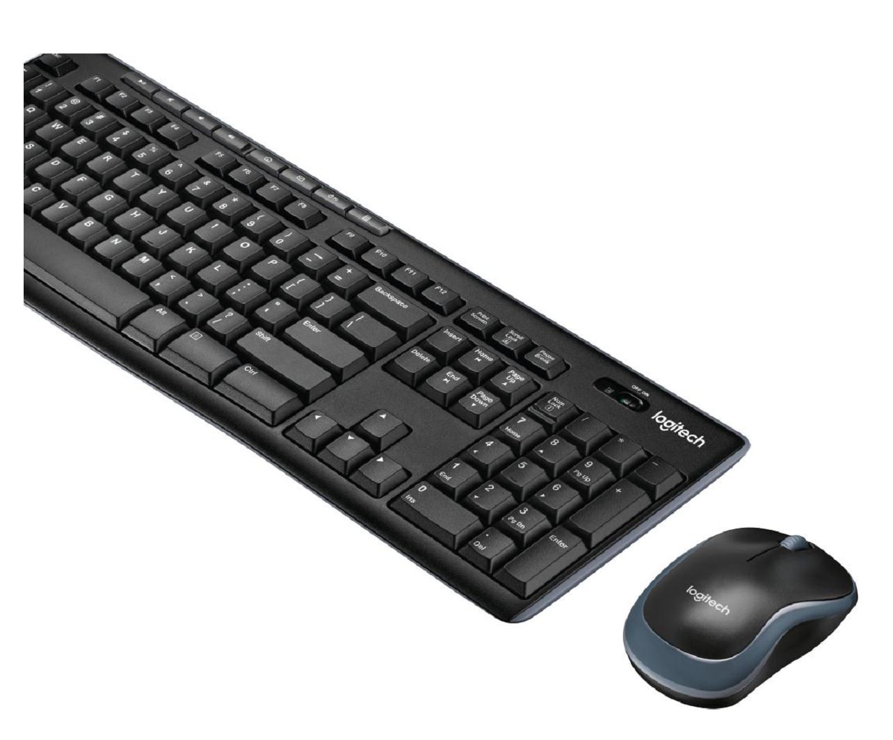 Pack clavier + souris Wireless Combo MK270