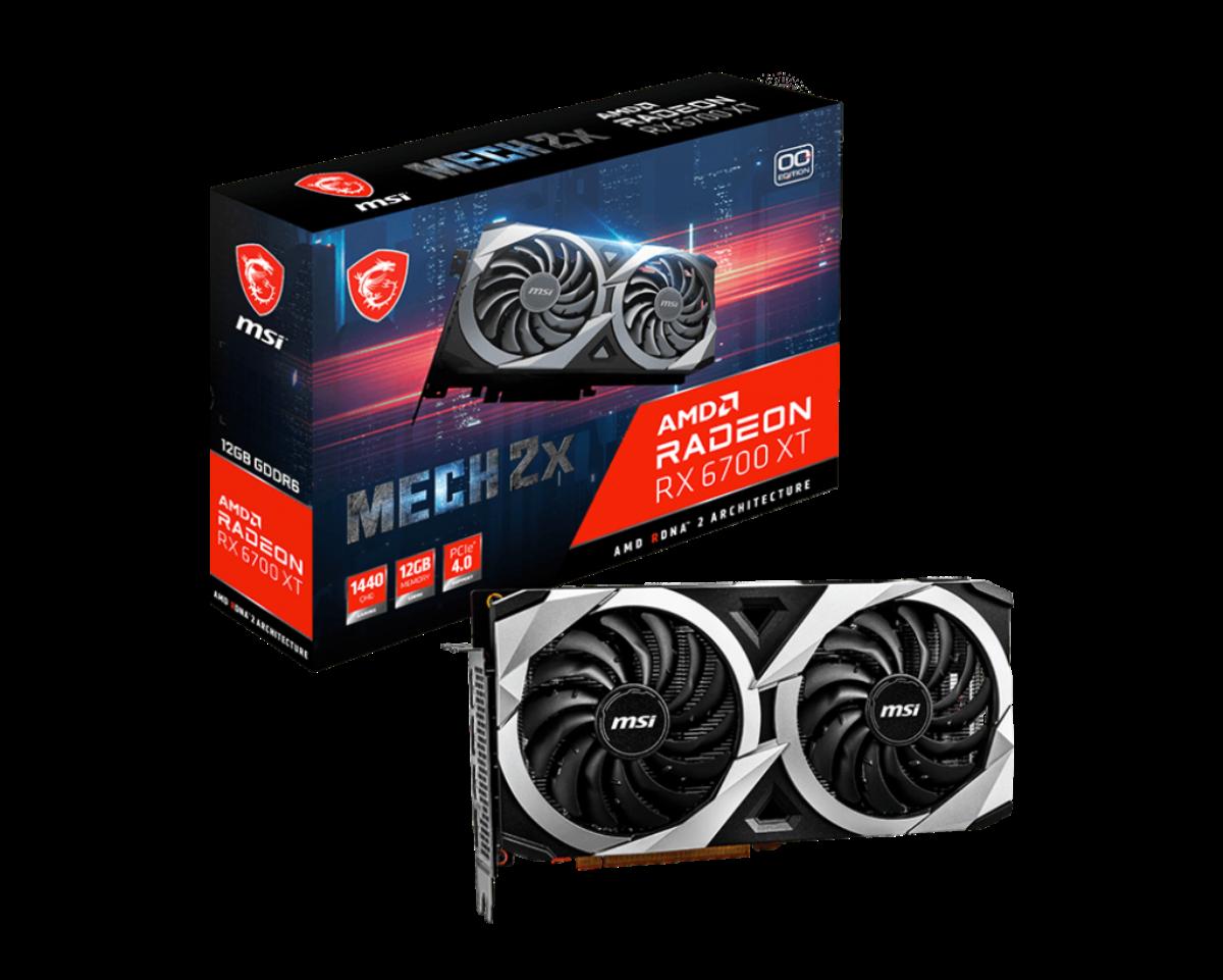 Radeon RX 6700 XT MECH