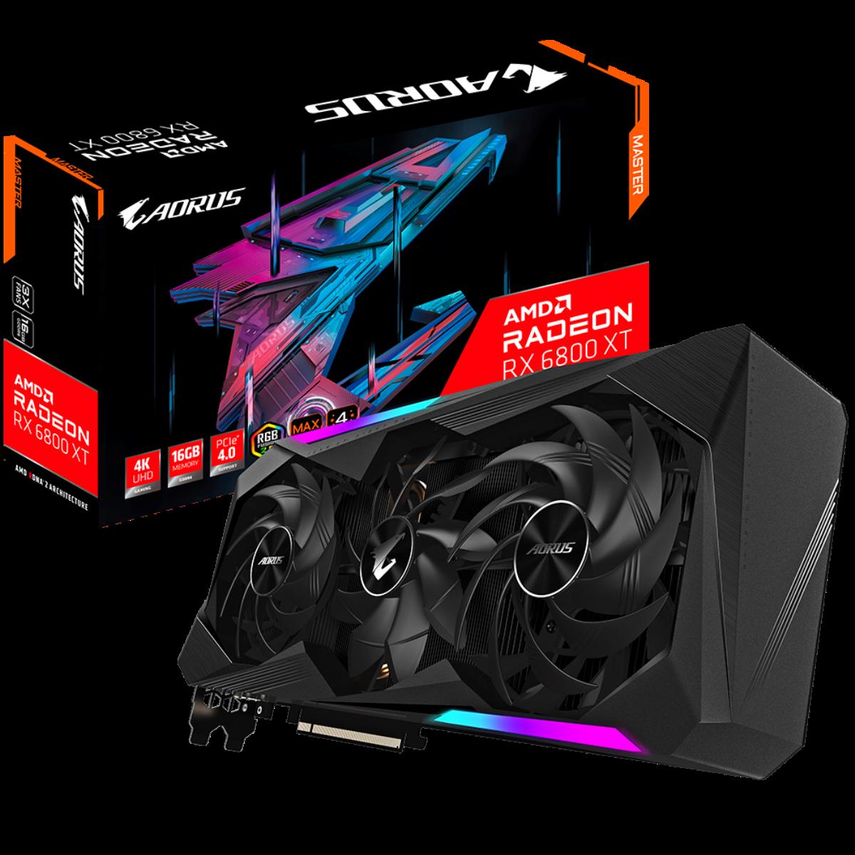 Radeon RX 6800 AORUS XT MASTER