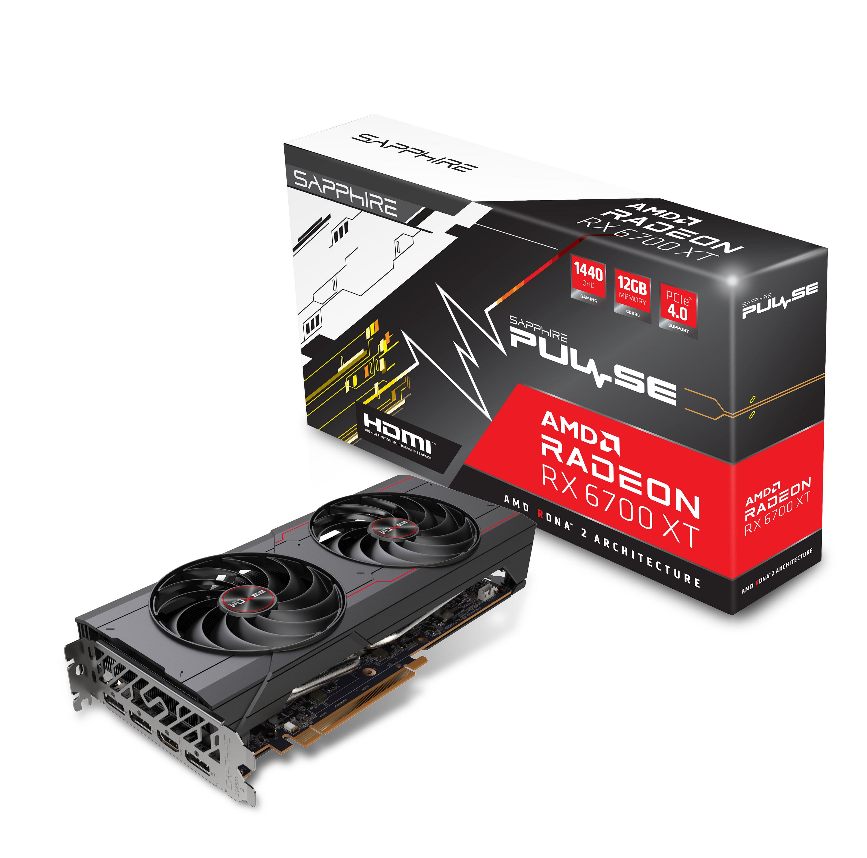SAPPHIRE PULSE AMD RADEON™ RX 6700 XT GAMING 12GB GDDR6 HDMI / TRIPLE DP