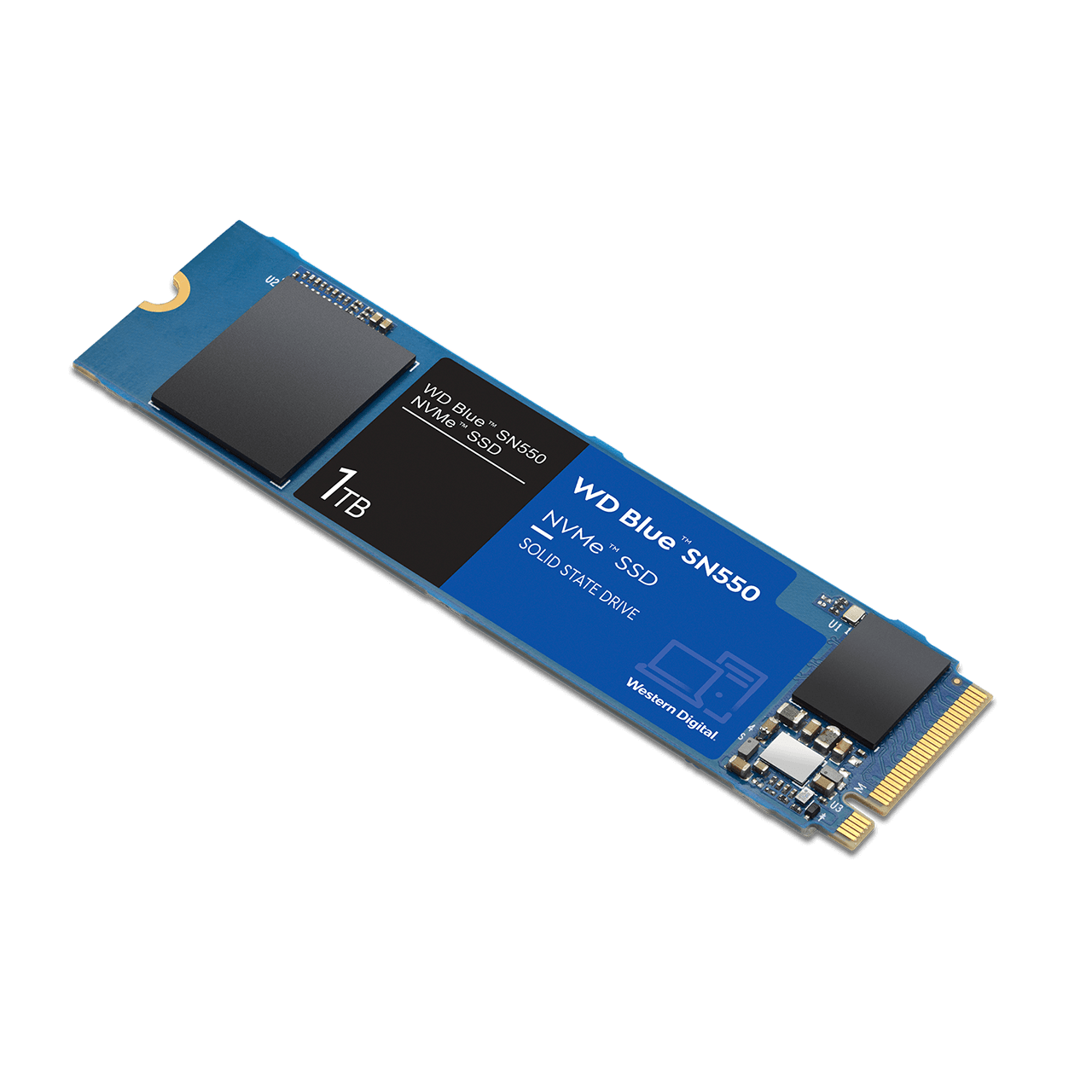 Disque SSD NVMe WD Blue SN550 1 To Western Digital