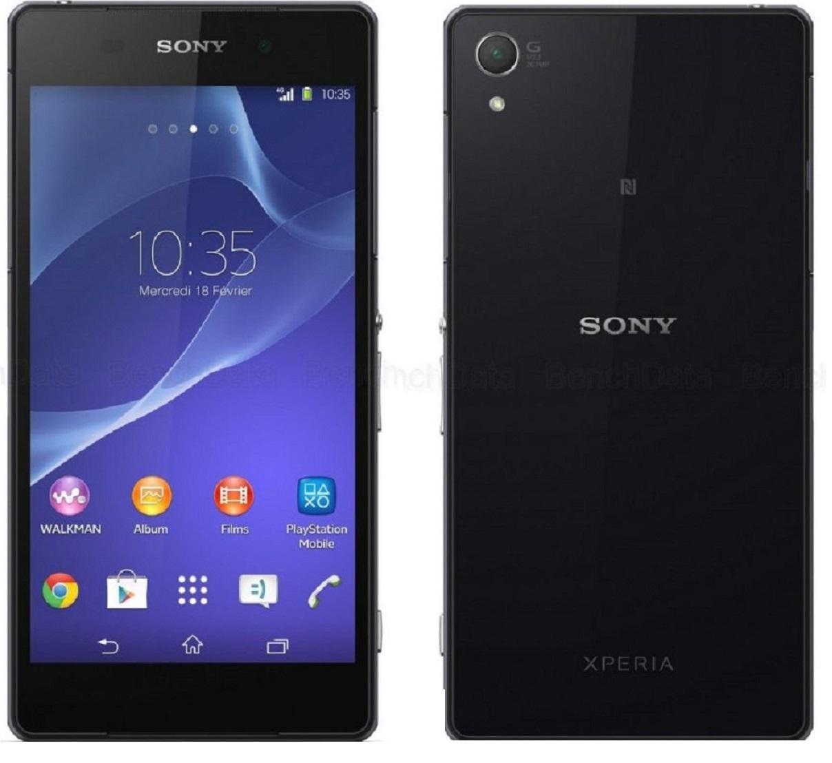 Sony Xperia Z2, 16 Go, Noir
