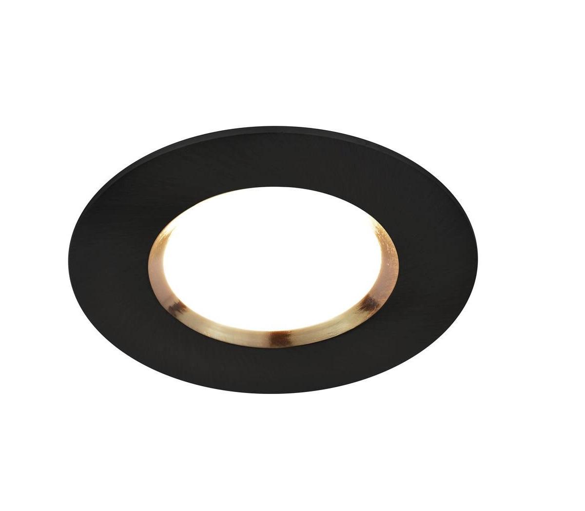 Spot a encastrer connecté dorado IP65 LED noir 4.7w 2200-6500k 380lm