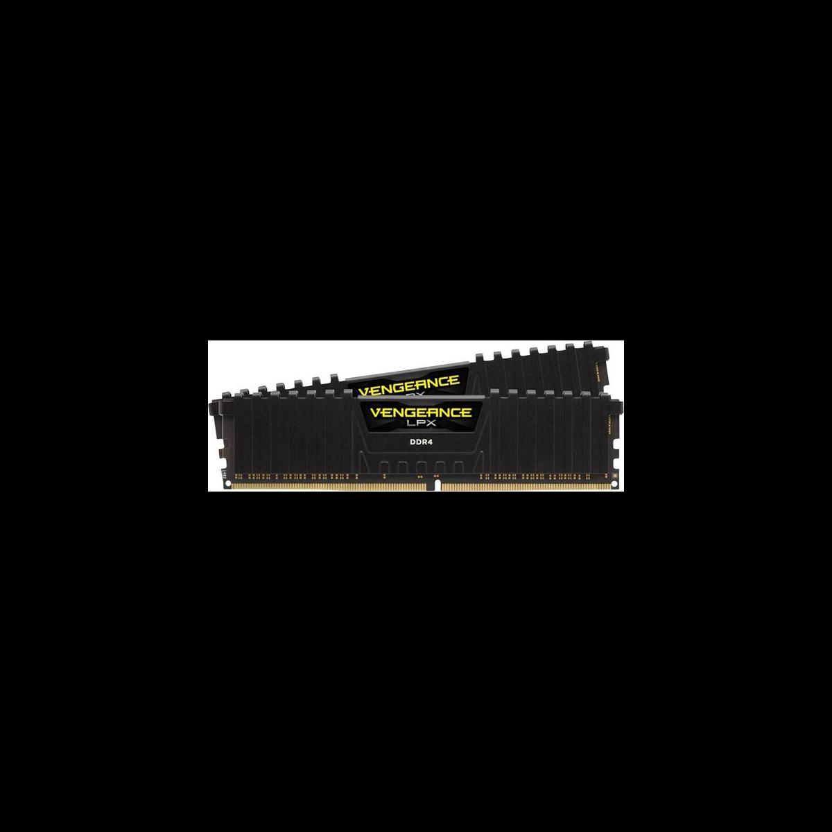 Vengeance LPX - 1x8 Go - DDR4 2400 MHz - Noir