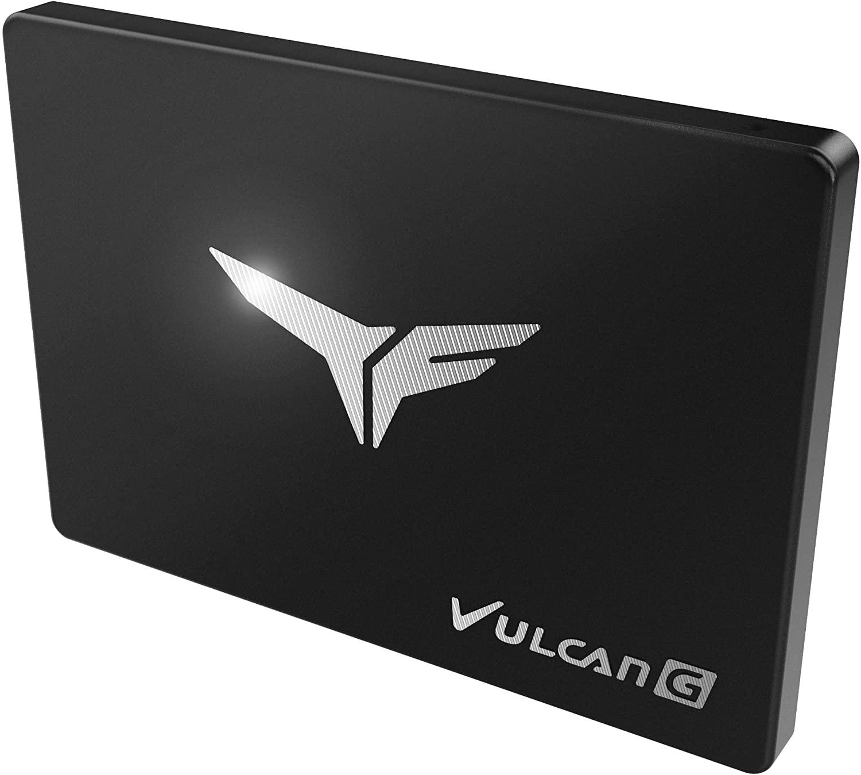 Disque SSD Gamer Vulcan G T-Force Noir