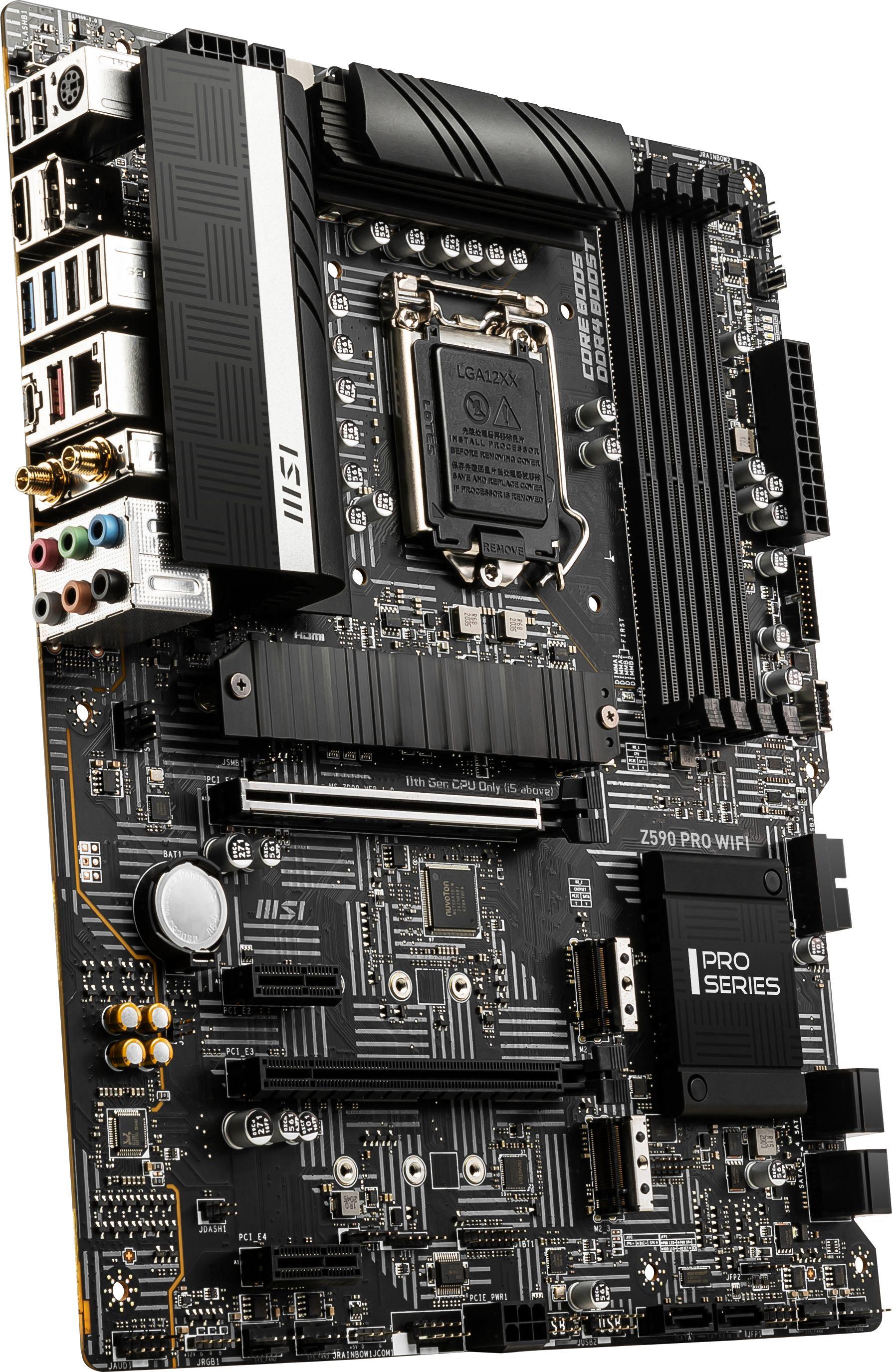 Carte-mère Z590 Pro Wi-Fi MSI