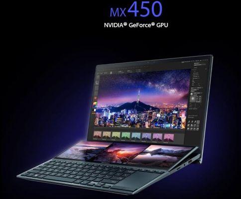 Zenbook Duo   UX482EG-KA220T - Bleu