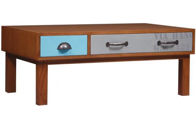 Table basse bois vintage paul table basse pas cher - Table basse en bois pas cher ...