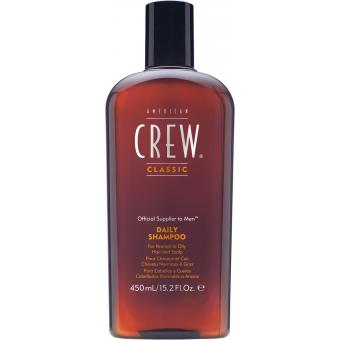 American Crew - American Crew- Crew Daily Shampoo -Shampoing- 15.2oz/450ml - Cosmetique american crew