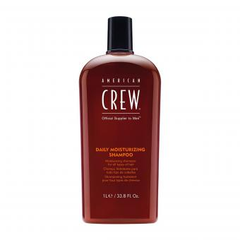 American Crew - American Crew-Crew Daily Shampoo- Shampoing- 1000ml - Cosmetique american crew
