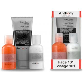 Anthony - Coffret Visage 101 - Cosmetique homme anthony