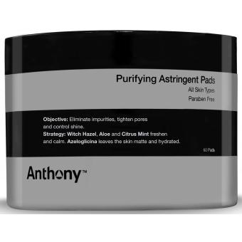 Anthony - Disques Astringents - Cosmetique homme anthony