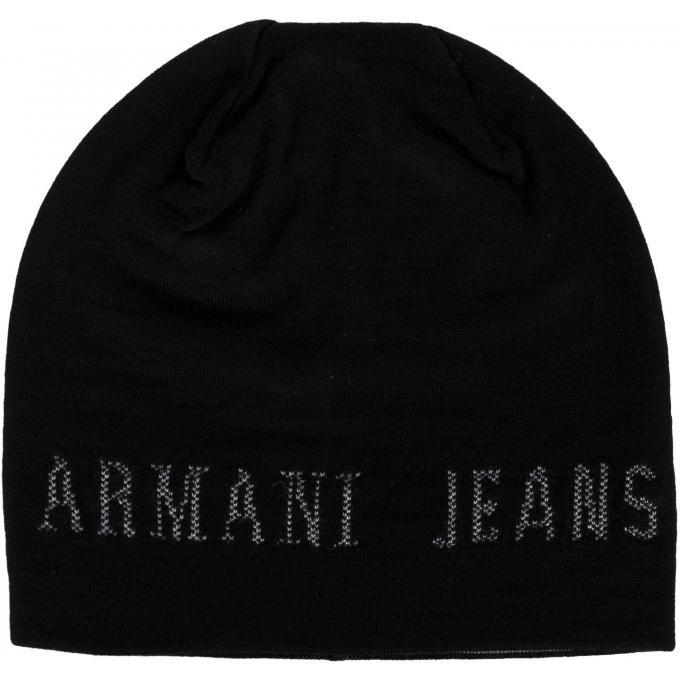 ae703f2c1305 Bonnet Armani - Logo Emporio Armani - Echarpe, gant   bonnet homme