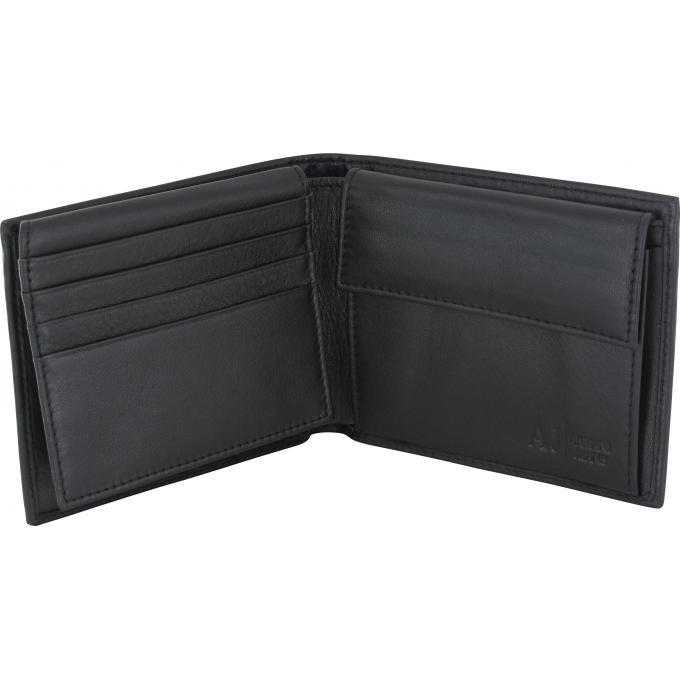 Porte monnaie armani jeans noir