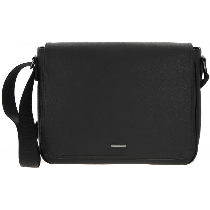 SAC MESSAGER RABAT - Bandoulière Laptop Emporio Armani - Sac Besace ... 6bfc6de9dd6