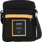 Armani Jeans - Sac Reporter Toile - Promotions Maroquinerie HOMME