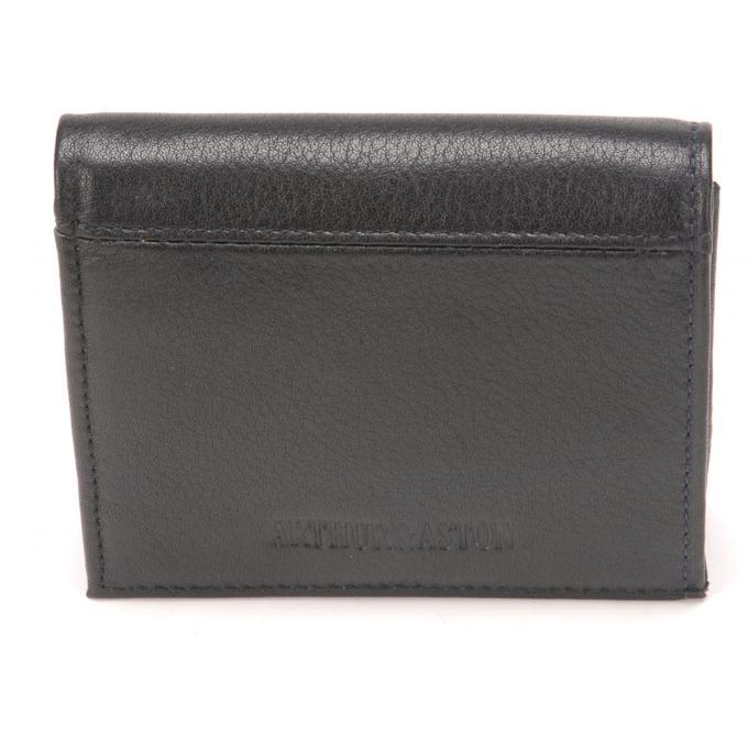 Porte monnaie bo te cuir vachette fermeture pression arthur aston porte monnaie homme - Porte monnaie arthur et aston ...