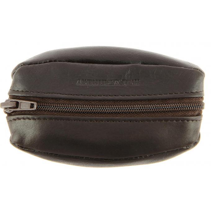 Porte monnaie zippe logotee cuir de vachette huil arthur aston petite maroquinerie homme - Porte monnaie arthur et aston ...