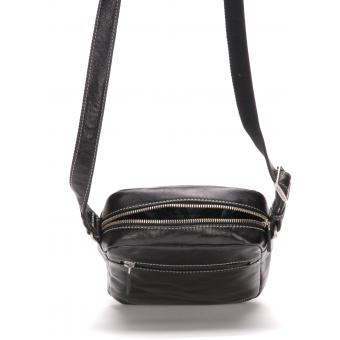SAC TRAVERS GRAND MODELE - Cuir Surpiqué