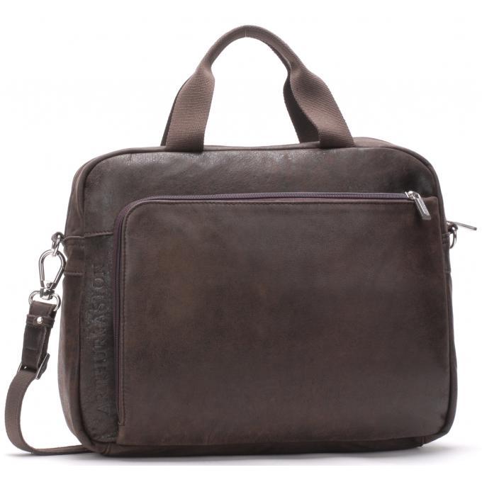 Porte document bandouliere amovible cuir de vachette arthur aston sac homme - Porte document arthur et aston femme ...