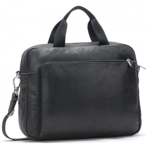 Arthur & Aston - PORTE DOCUMENT BANDOULIERE AMOVIBLE - Porte document homme cuir
