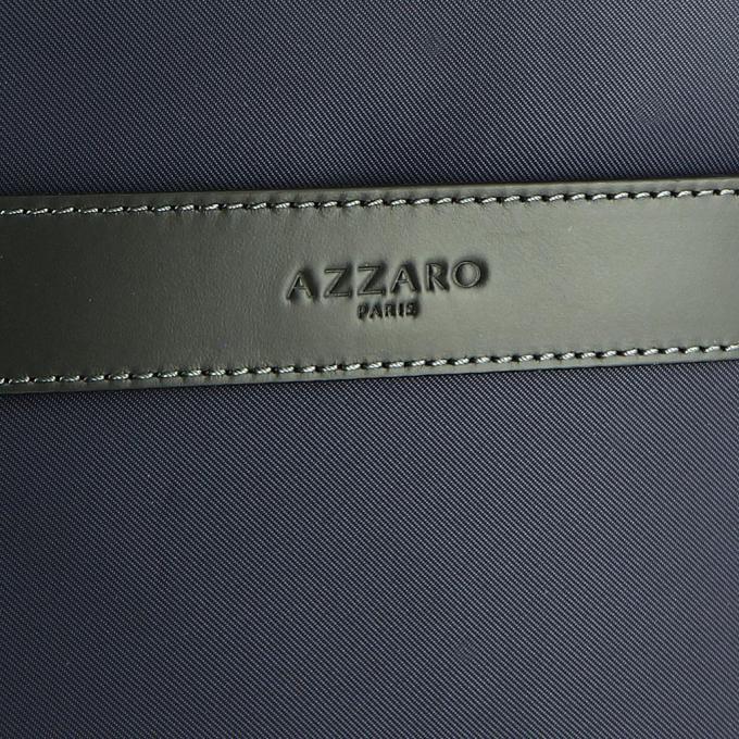 ef654f5660 Mini reporter en nylon et cuir -FENCE Azzaro Maroquinerie - Pochette ...