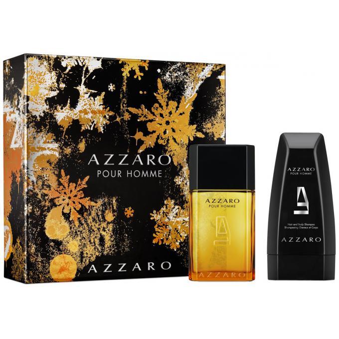 Coffret azzaro pour homme 100 ml shampoing corps cheveux offert azzaro parfums gel douche - Coffret gel douche homme ...