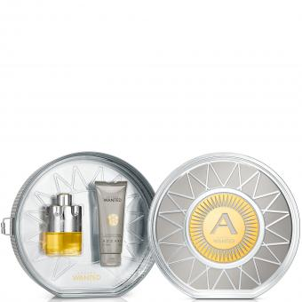 Azzaro Parfums - COFFRET AZZARO WANTED (VAPO EDT + SHAMPOING CORPS & CHEVEUX ) - Coffret parfum homme