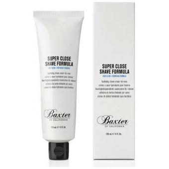 Baxter of California - Super Close Shave Formula Tube 120ml - Cosmetique baxter of california