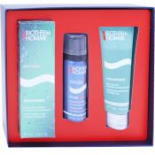 Biotherm Homme - COFFRET AQUAPOWER (soin, rasage, gel douche) - Cosmetique biotherm homme