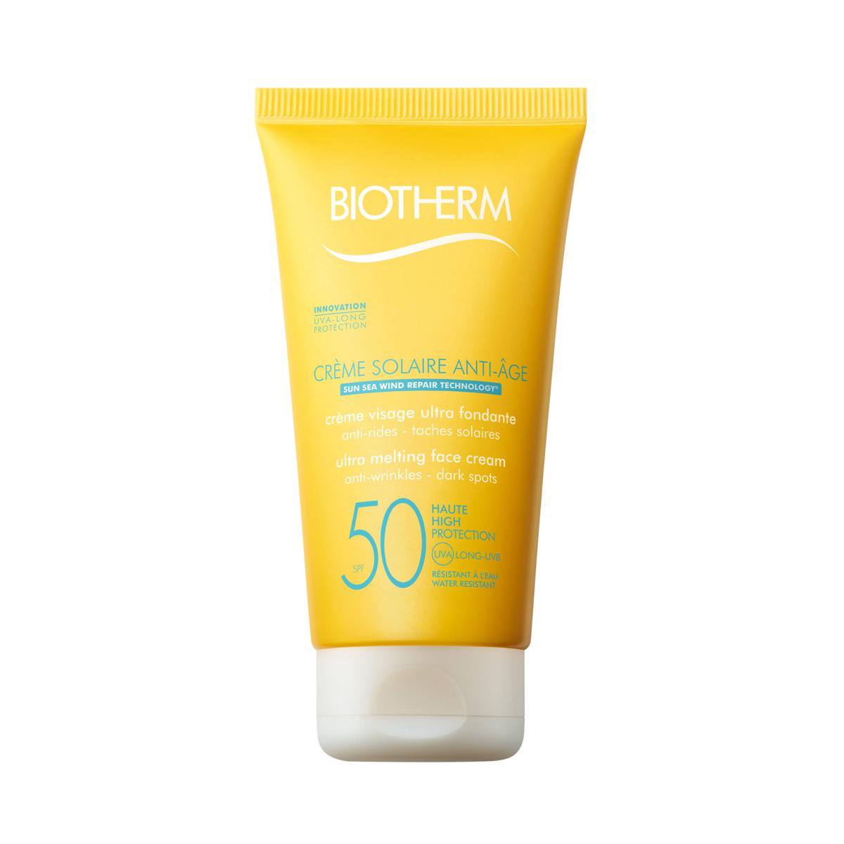 CREME SOLAIRE VISAGE ANTI-AGE SPF Biotherm Homme